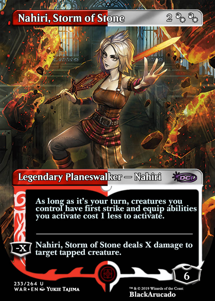 Nahiri Storm Of Stone By Blackarucado On Deviantart