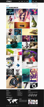 Gallery for Modern Connect Template Design by ShindiriStudio