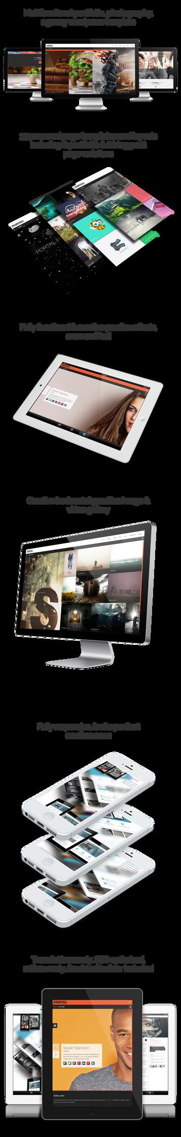 Portal - Multipurpose Wordpress Portfolio Template by ShindiriStudio