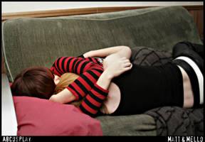 Sleep With Me - Matt and Mello by Cashretorical