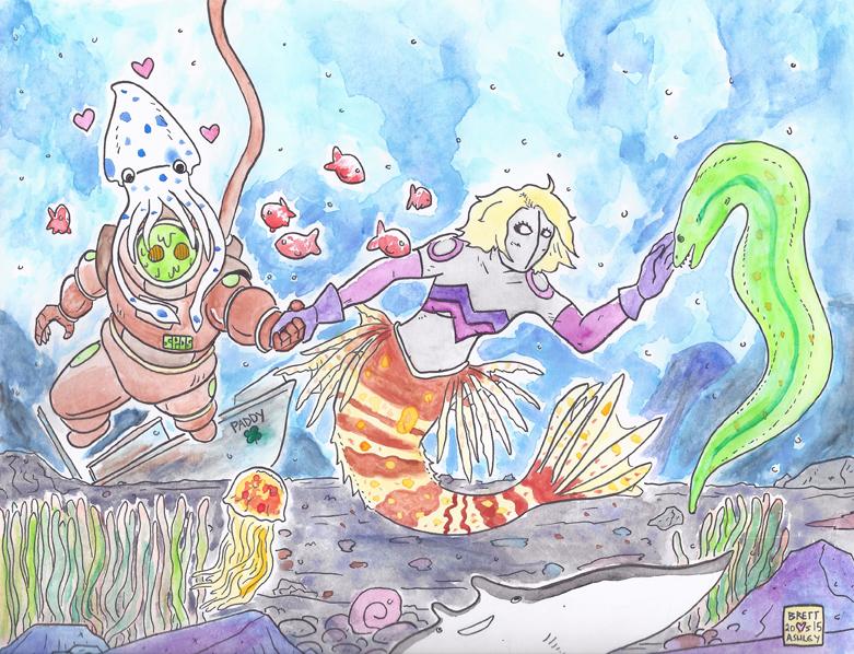 Undersea Excursion by bretterson