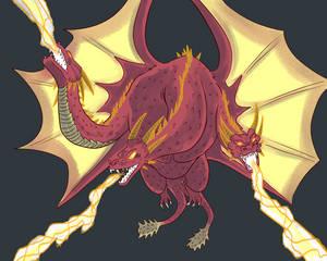 Devil King Ghidorah: Gravity Beams