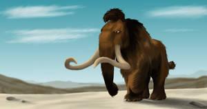 Manny the Moody Mammoth by 10flyingunicorns