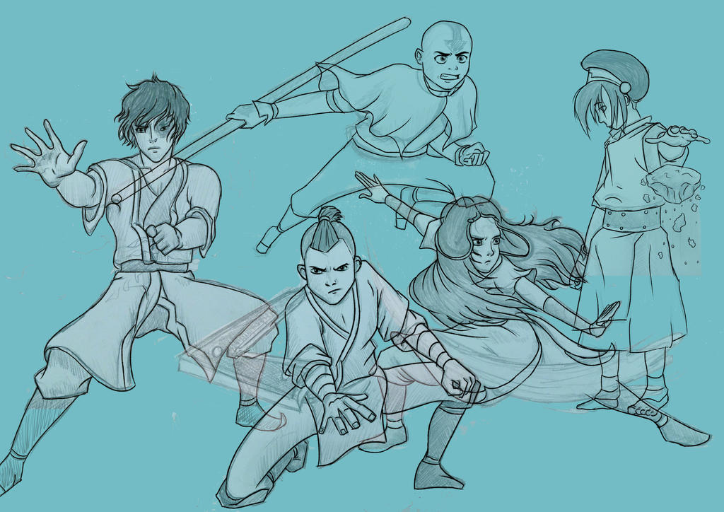 Team Avatar WIP by 10flyingunicorns