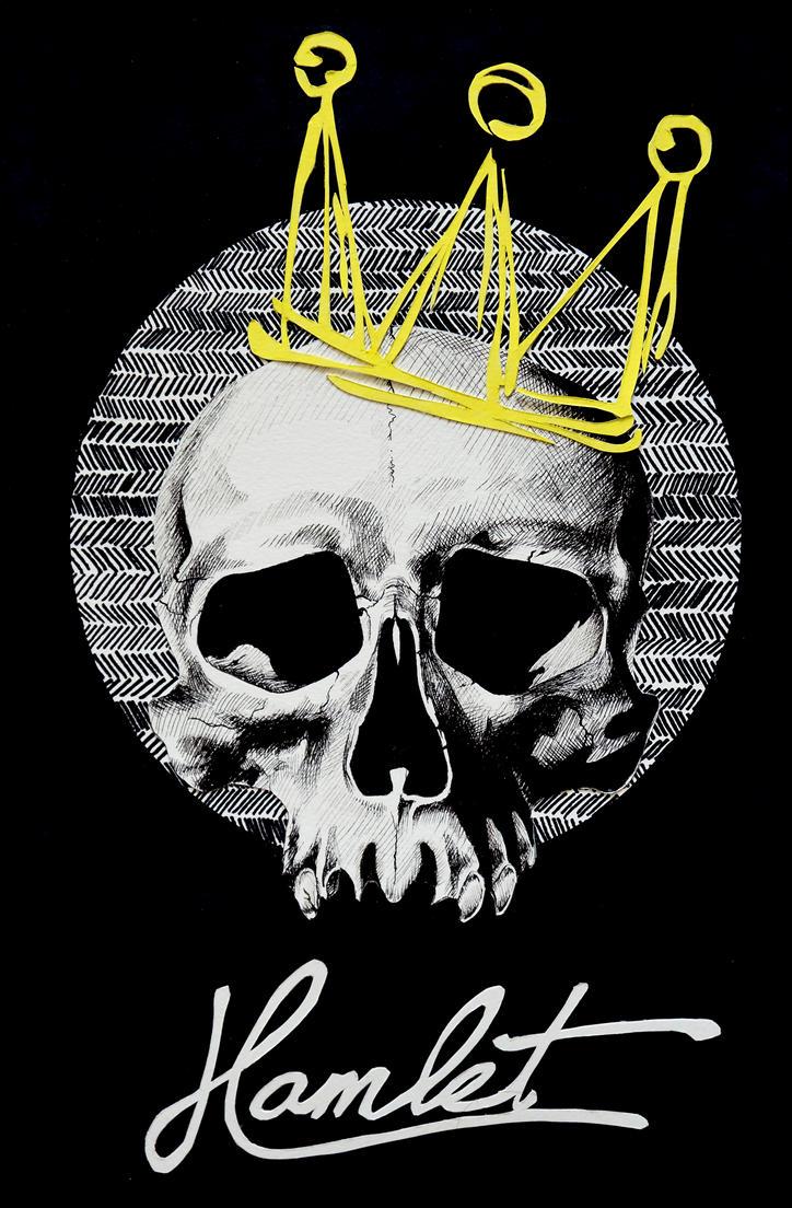 Hamlet Poster Design by autumnicity
