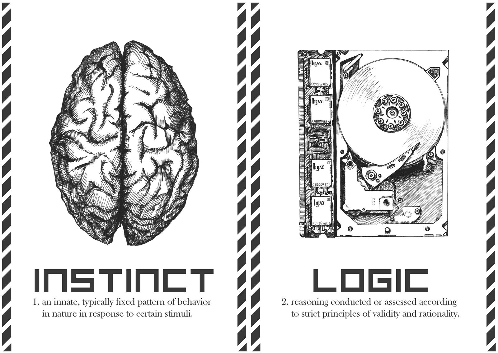 instinct   logic by autumnicity on deviantart