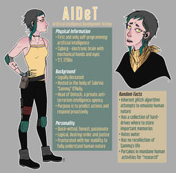 AIDeT Reference Sheet by autumnicity