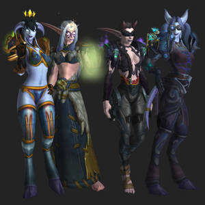 [+World of Warcraft+] ''Tank Ladies''
