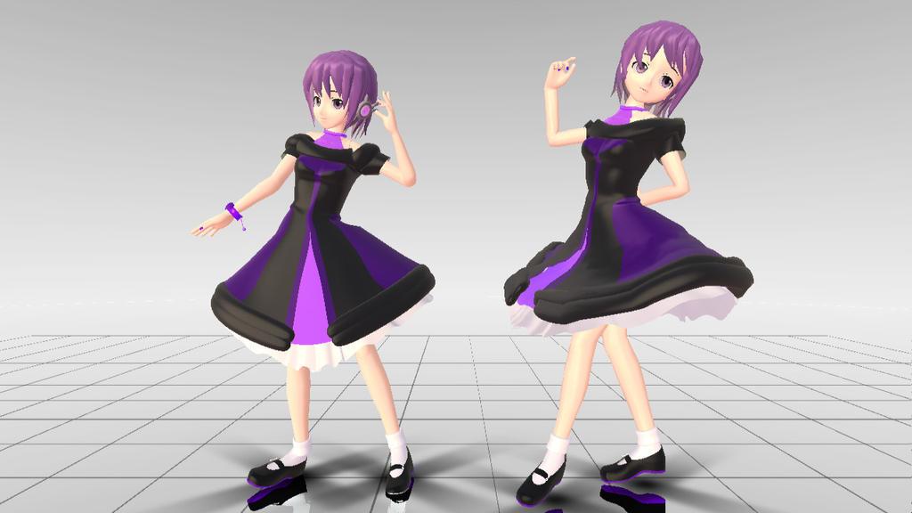 Defoko Dress (Download) by Nayuki-chin