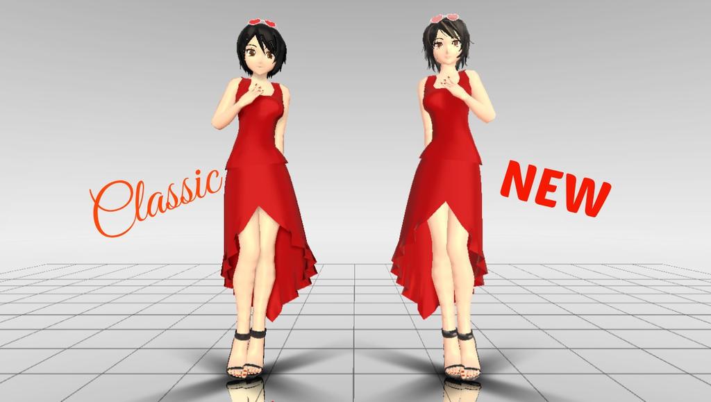 Clara Red (Download) by Nayuki-chin