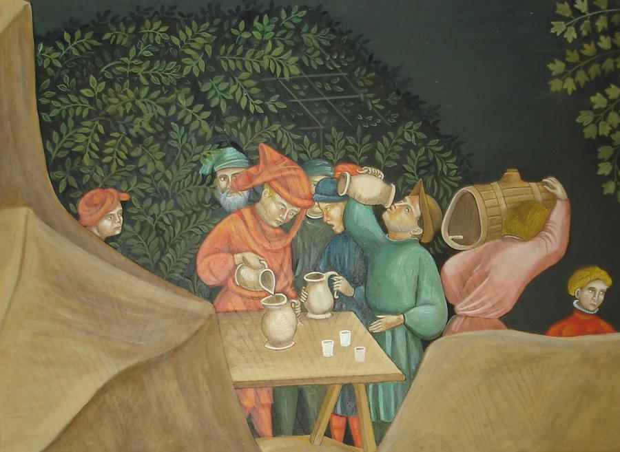 Joyeux buveurs... by mordiou