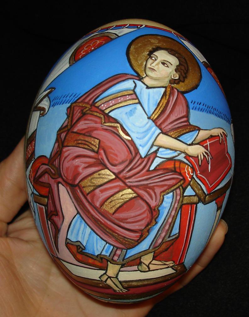 l'evangeliste Saint Marc by mordiou