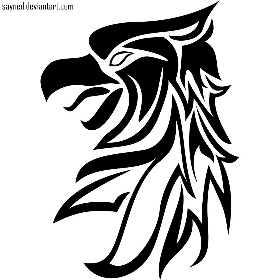 tribal tattoo experiment griffin by sayned on deviantart. Black Bedroom Furniture Sets. Home Design Ideas