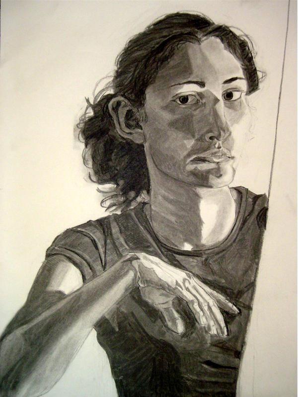 Self Portrait 1 by Alleykat5842