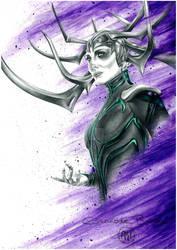 Hela: Ragnarok Drawing
