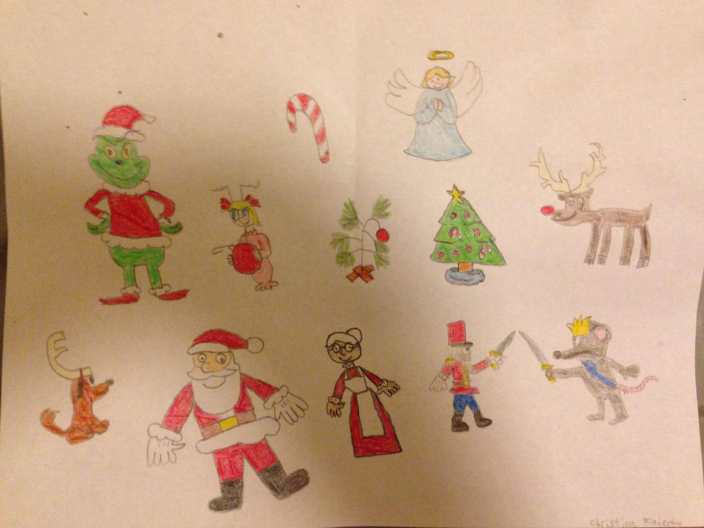 My Christmas drawings by Prince5s