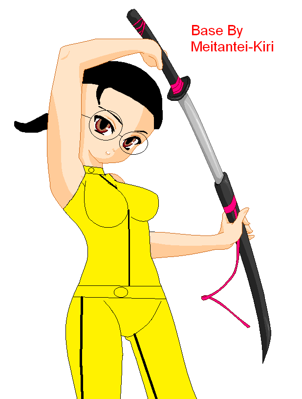 Me in Kill Bill style by Prince5s