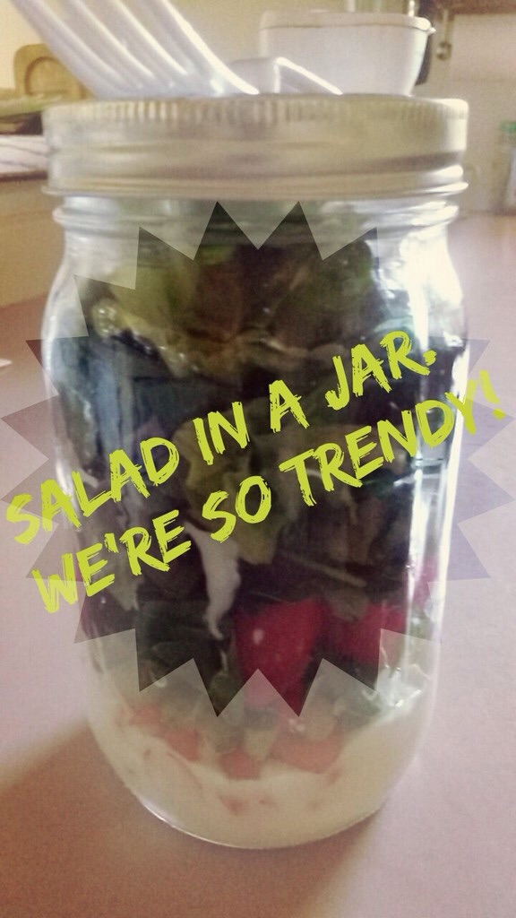 Salad in the jar by Prince5s