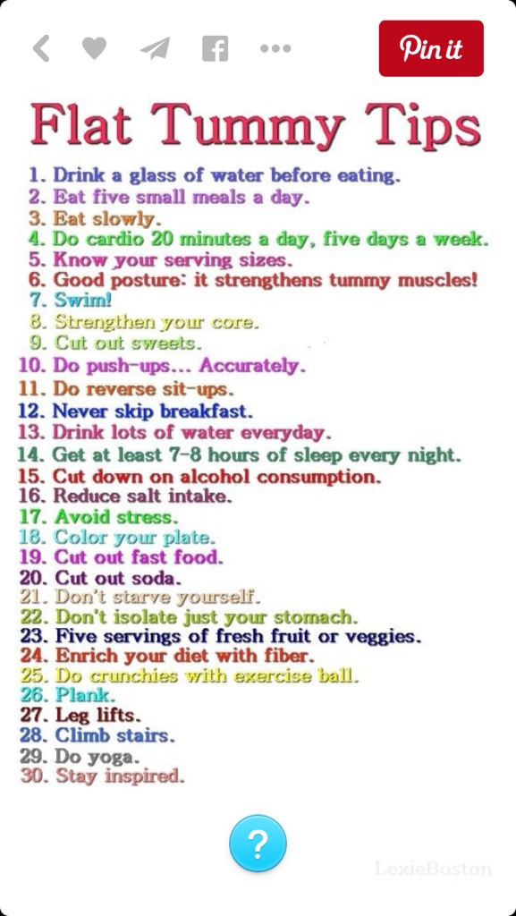 Flat Tummy Tips by Prince5s