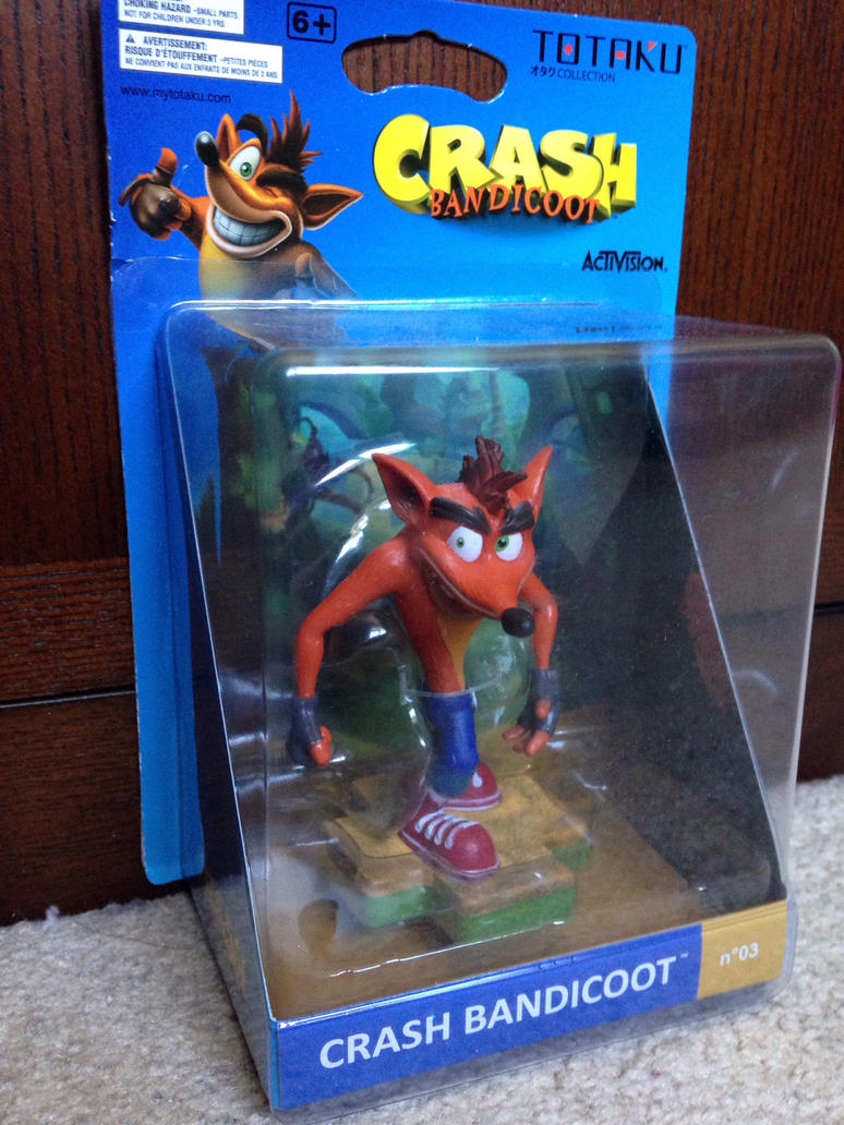 Crash Bandicoot action figure by Prince5s