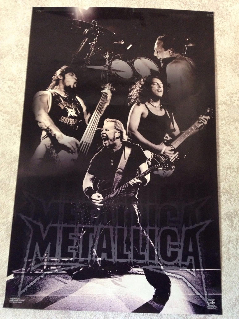 My Metallica poster by Prince5s