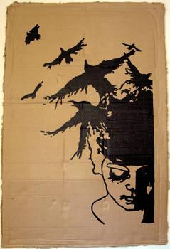 Stencil - The Crows