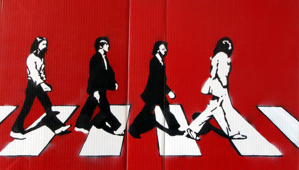 Stencil - Abbey Road