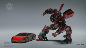 Lamborghini Gallardo Autobot by ryan-mahendra