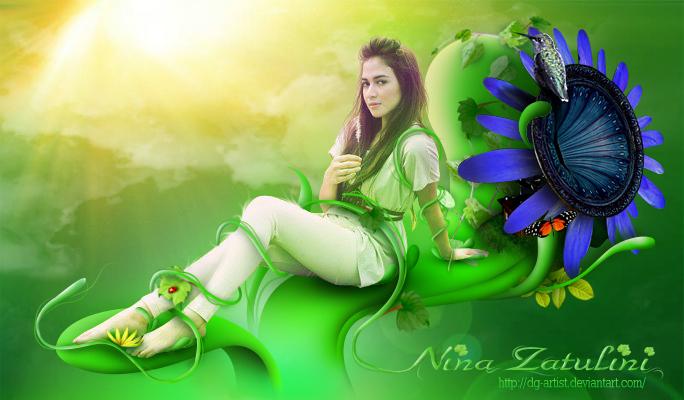 Nina Zatulini by ryan-mahendra