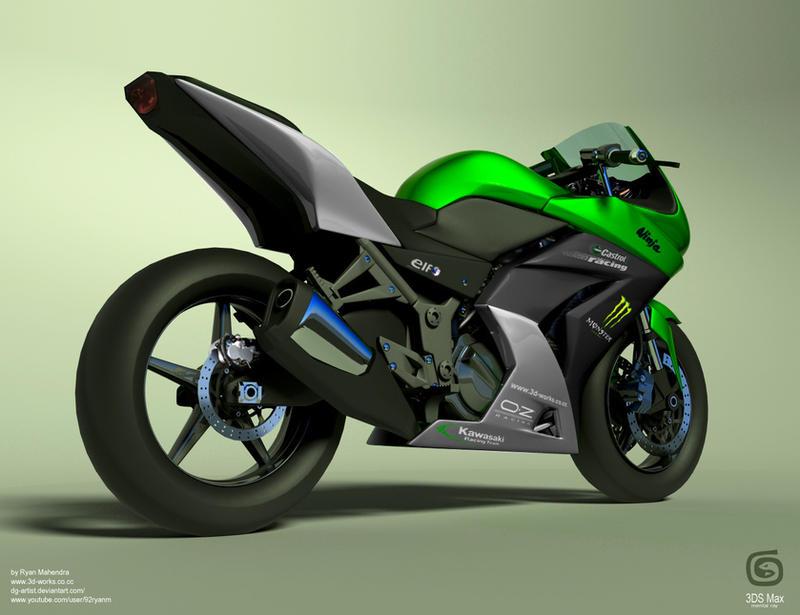 Kawasaki Ninja 250R by ryan-mahendra
