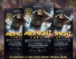 Midnight Party Flyer