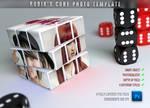Rubik's Cube Photo Template