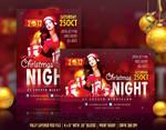 Christmas Night Flyer Template