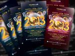Happy New Year Flyer Template