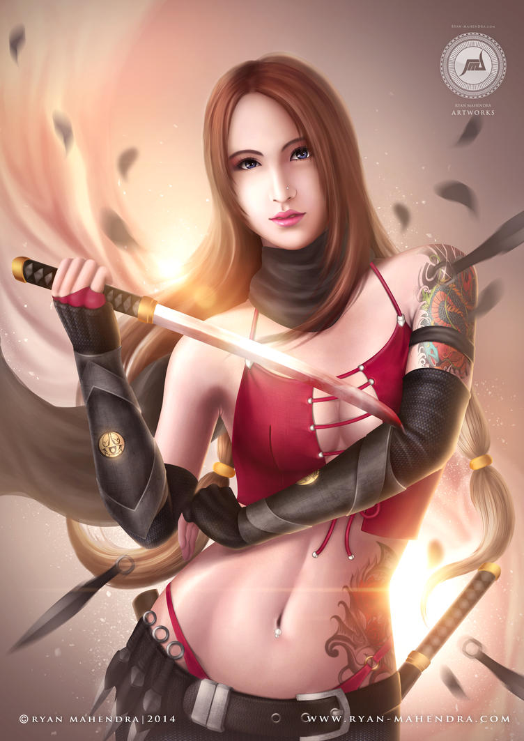 Kunoichi by ryan-mahendra