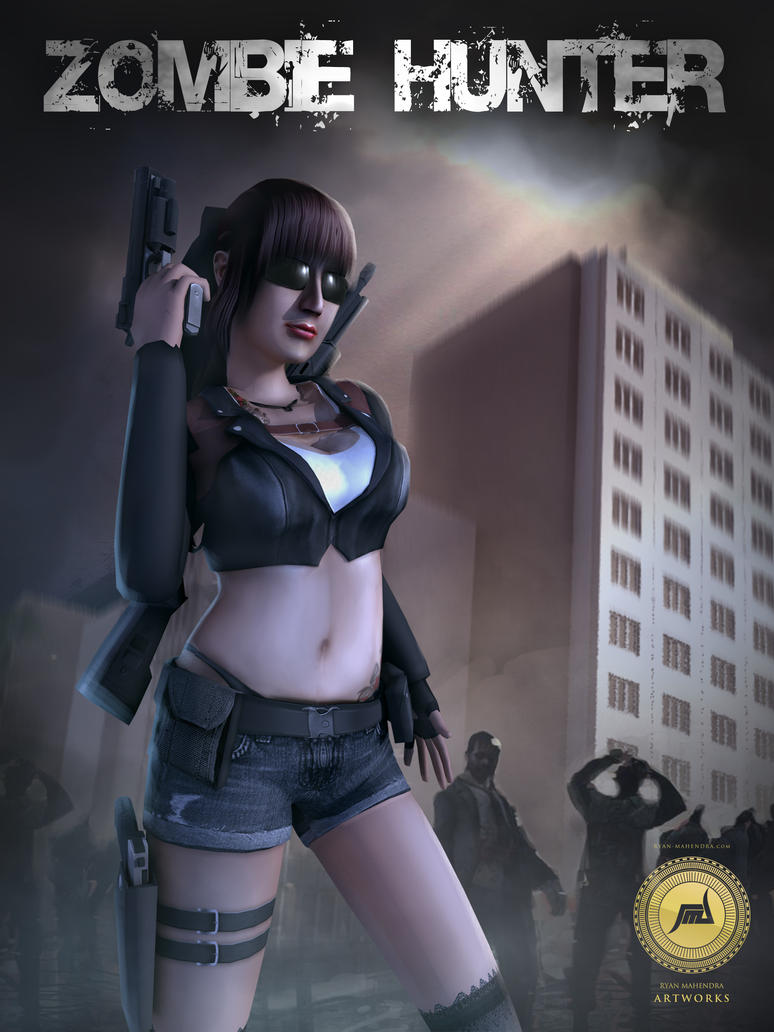 Zombie Hunter (3D Game Project) by ryan-mahendra