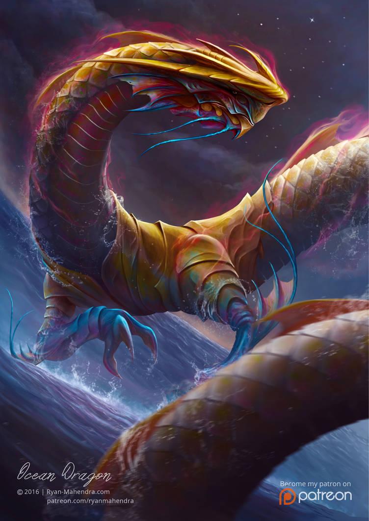 Ocean Dragon (The Winner of Creavorite Award 2016)