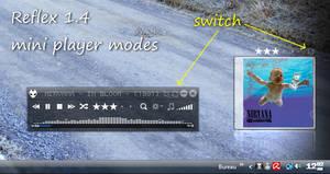 Reflex v1.4 NEW miniplayer