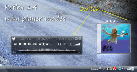 Reflex v1.4 NEW miniplayer
