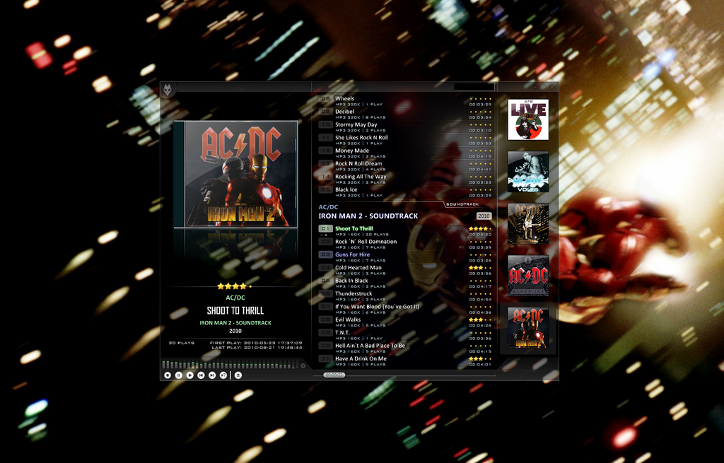 new foobar2000 config WIP by Br3tt