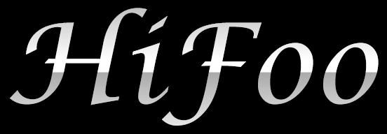 HiFoo Text Logo by Br3tt