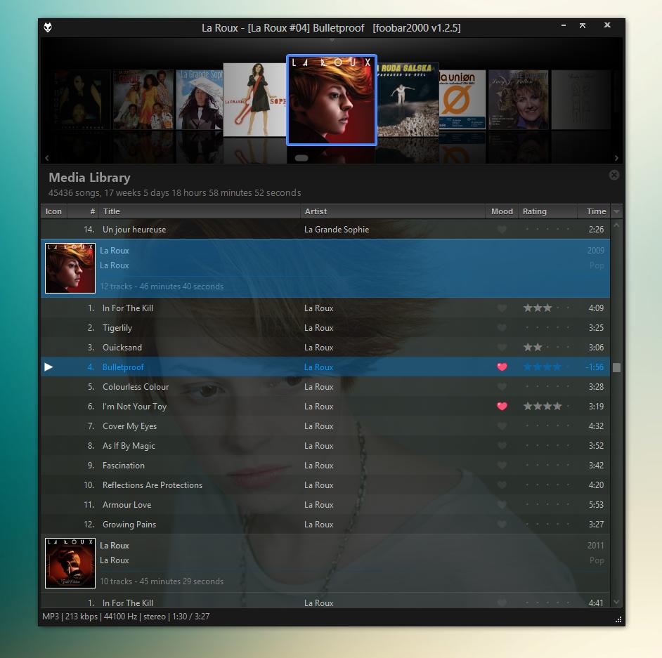 WSH Playlist 2013 with WSH CoverFlow by Br3tt