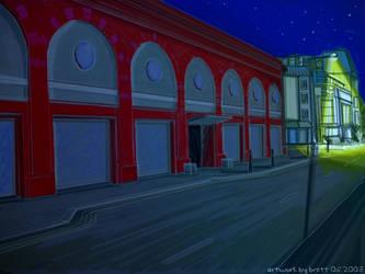Street Night by Br3tt