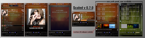 my foobar : Scaled v0.7 beta by Br3tt