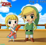 Wind Waker Aryll And Link