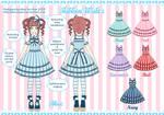 Ribbon Waltz Lolita Design