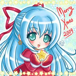 Merry Christmas 2009 by kurokumo