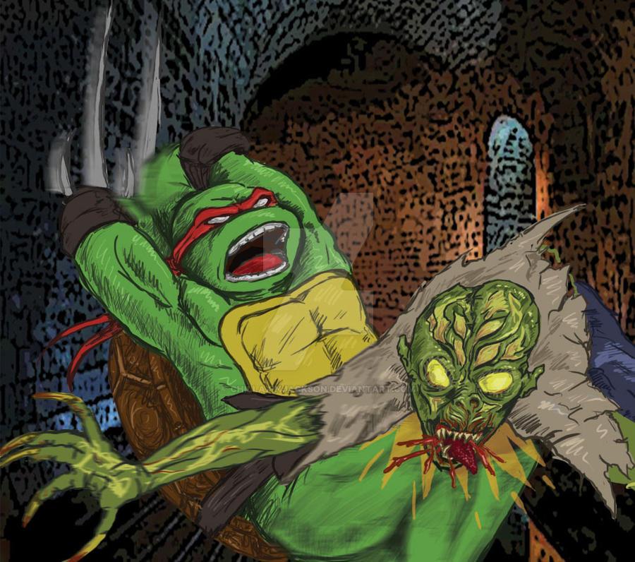 TMNT VS CHUD: Raphael by chillaxinjackson
