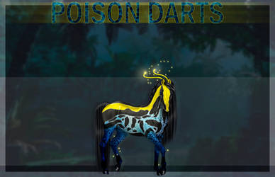 [closed] Adoptable - poison dart frog horse