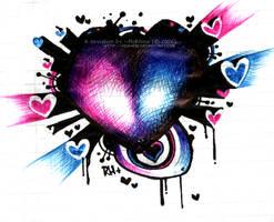 BallPenHeart+PinkBlue by MVRH